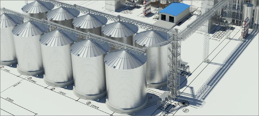 Элеваторного оборудования в Украине - проектирование и строительство